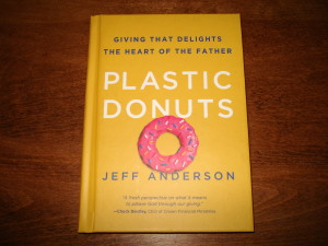 plastic donuts,book review,giving,tithe